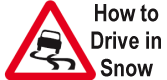How to drive safely on snow and ice