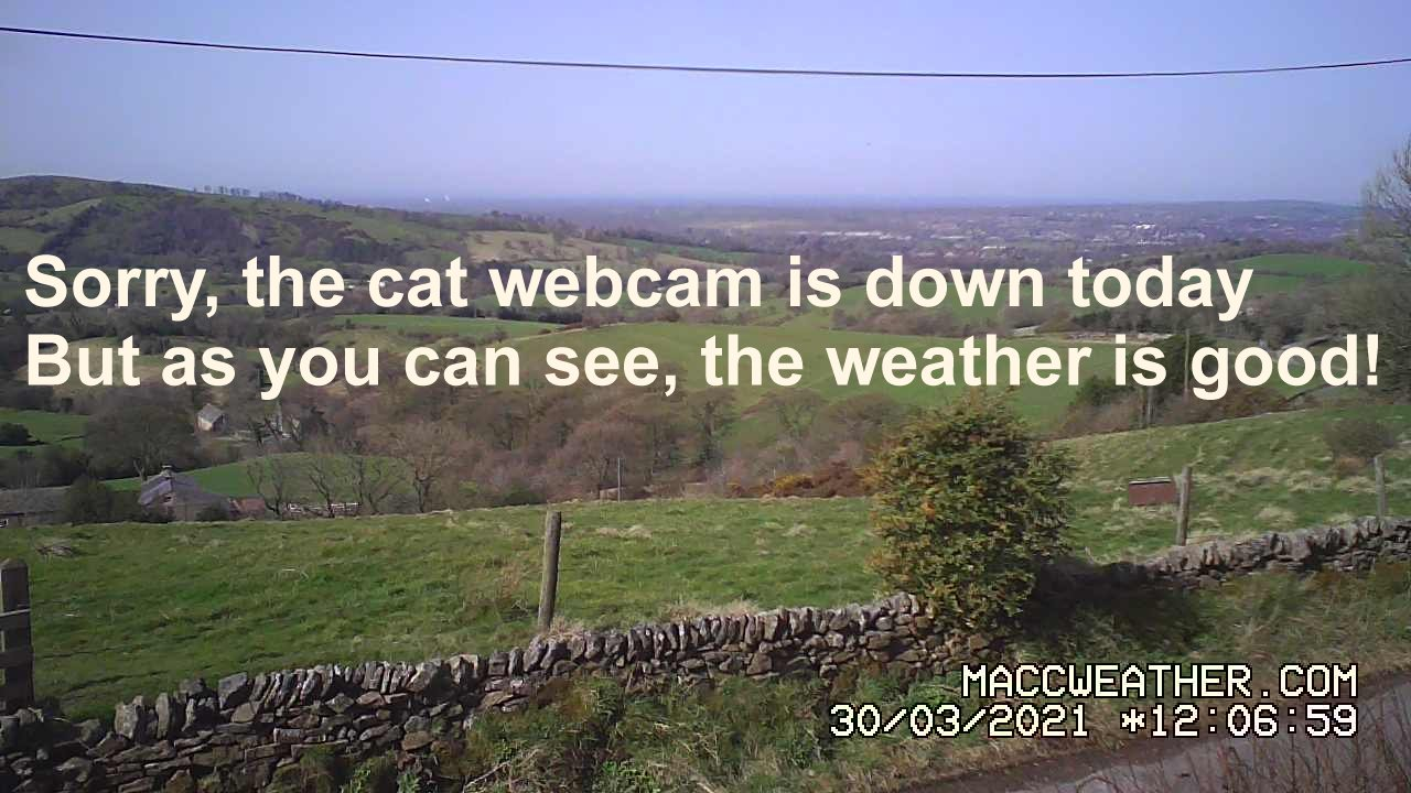 A537 Cat & Fiddle Webcam