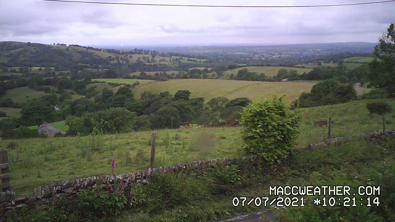 Peak District Webcams - Hanging Gate - Higher Sutton.