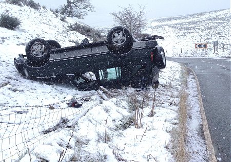 How to drive in snow and ice safely