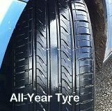 Compromise tread pattern